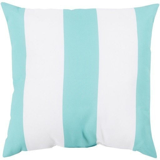 aqua-striped-outdoor-pillows