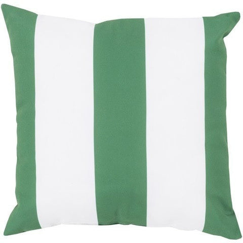 green-stripe-outdoor-throw-pillows