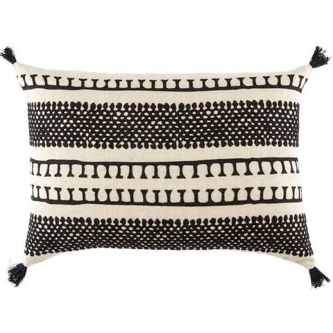 contemporary-black-stripe-pillows