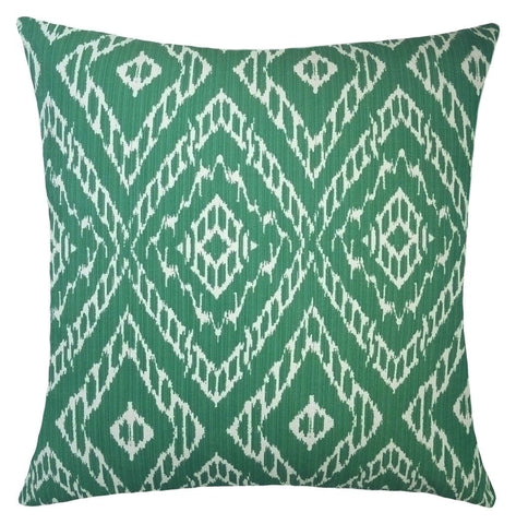 emerald-green-geometric-throw-pillows