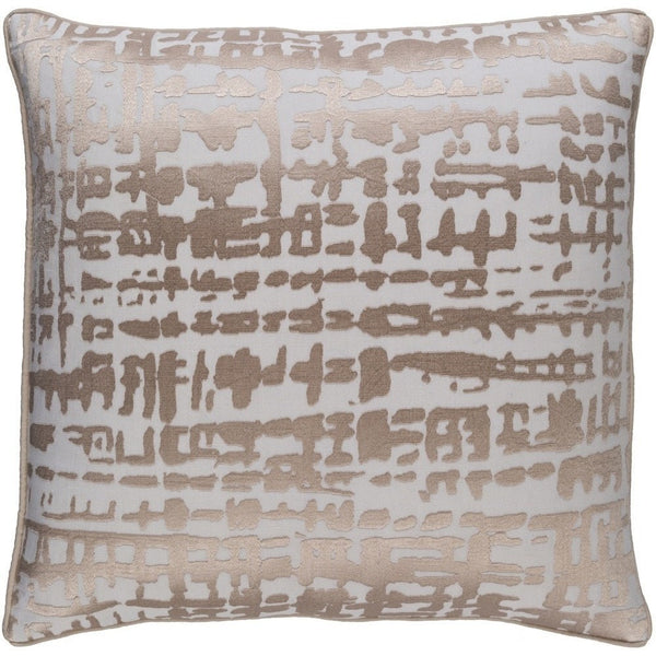 ivory gold bohemian pillow throw pillows silk and pin metallic print on