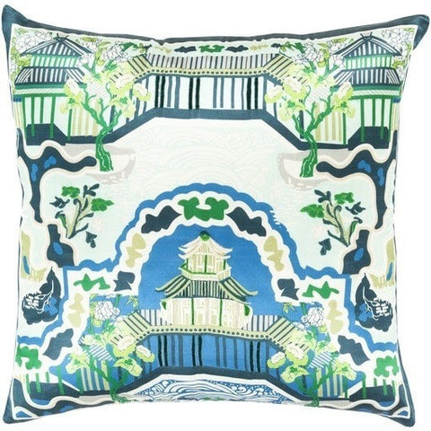 turquoise-chinois-garden-decorative-throw-cushion
