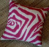 designer-hot-pink-zebra-pillow