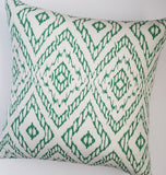 green-and-white-contemporary-accent-pillow