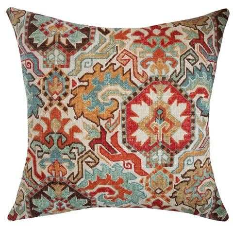 medallion-throw-pillow-burnt-orange