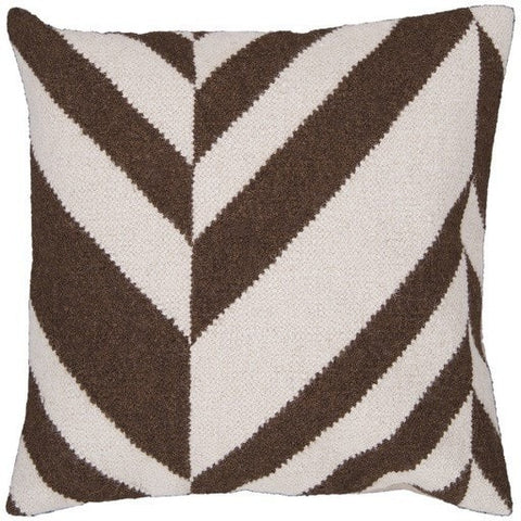 mocha-brown-stripe-throw-pillow