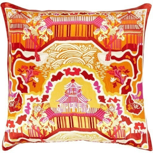 orange-asian-silk-throw-pillow