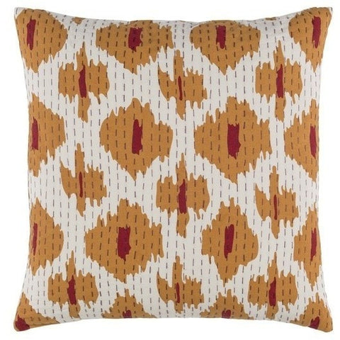 orange-tribal-print-pillows