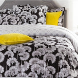 black-and-yellow-bedroom