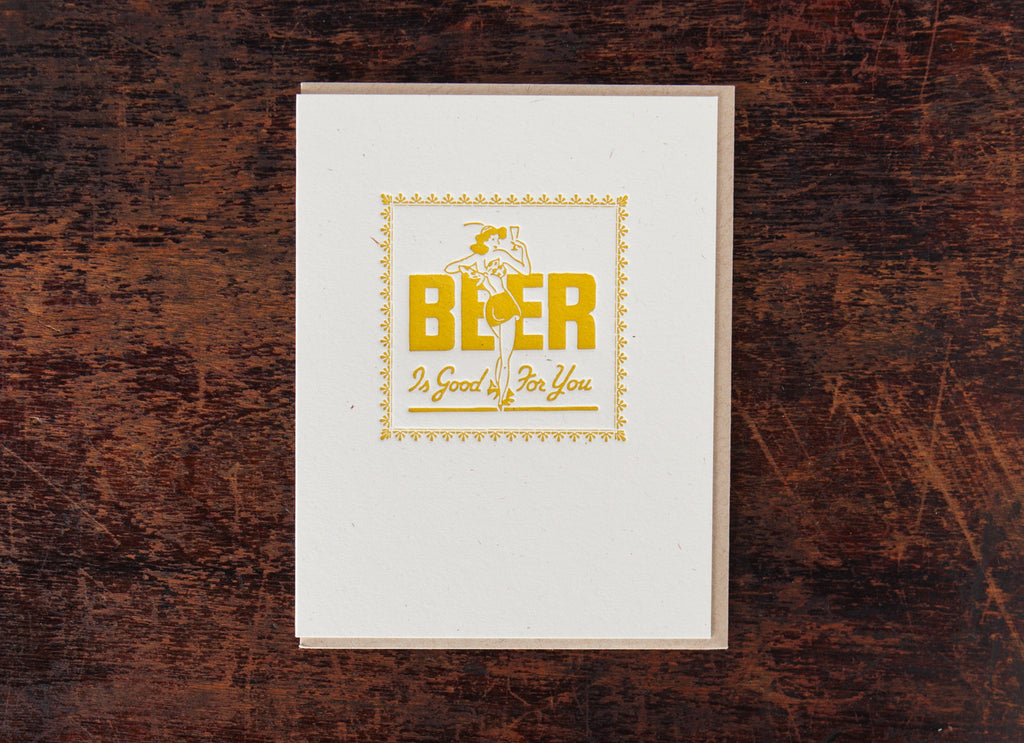 Classic Greetings: Beer Is Good For You