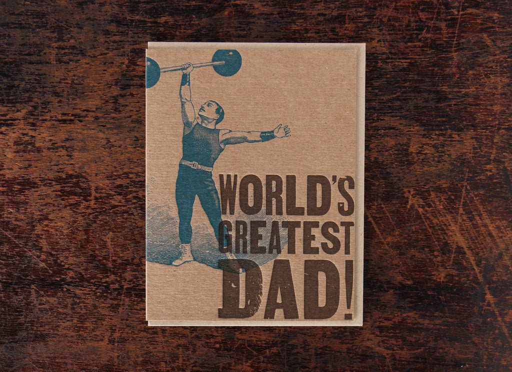 Classic Greetings: World's Greatest Dad