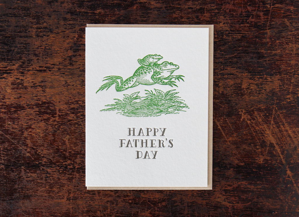 Classic Greetings: Father's Day Frogs