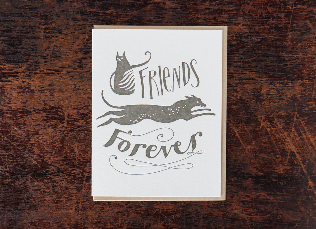 Calligraphy: Friends Forever