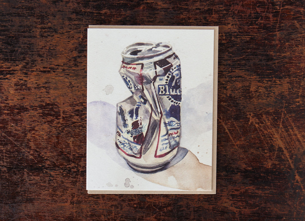 Crushed Beer Cans: PBR