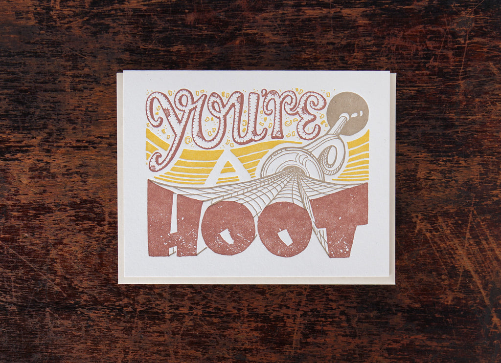 Old-Timey Greetings: You're A Hoot