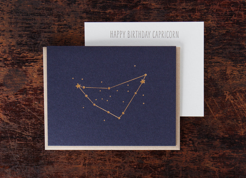 Zodiac Birthday: Capricorn
