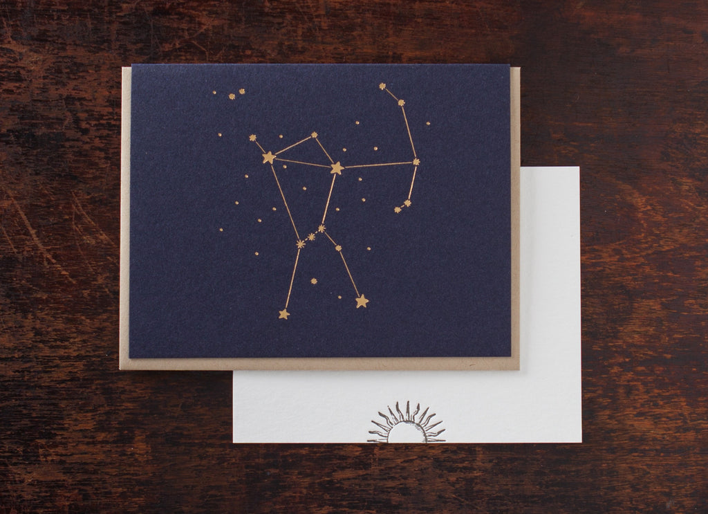 Constellation Greetings: Orion