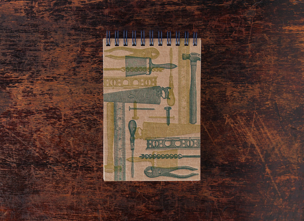 Mini Note Book: Tools Collage