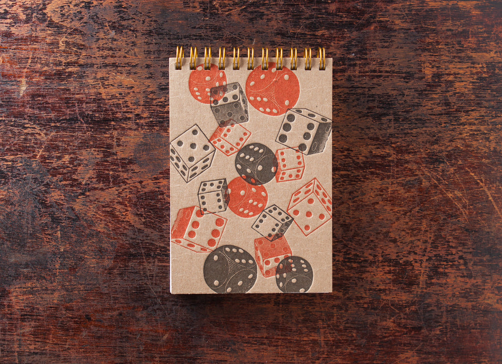 Mini Note Book: Dice