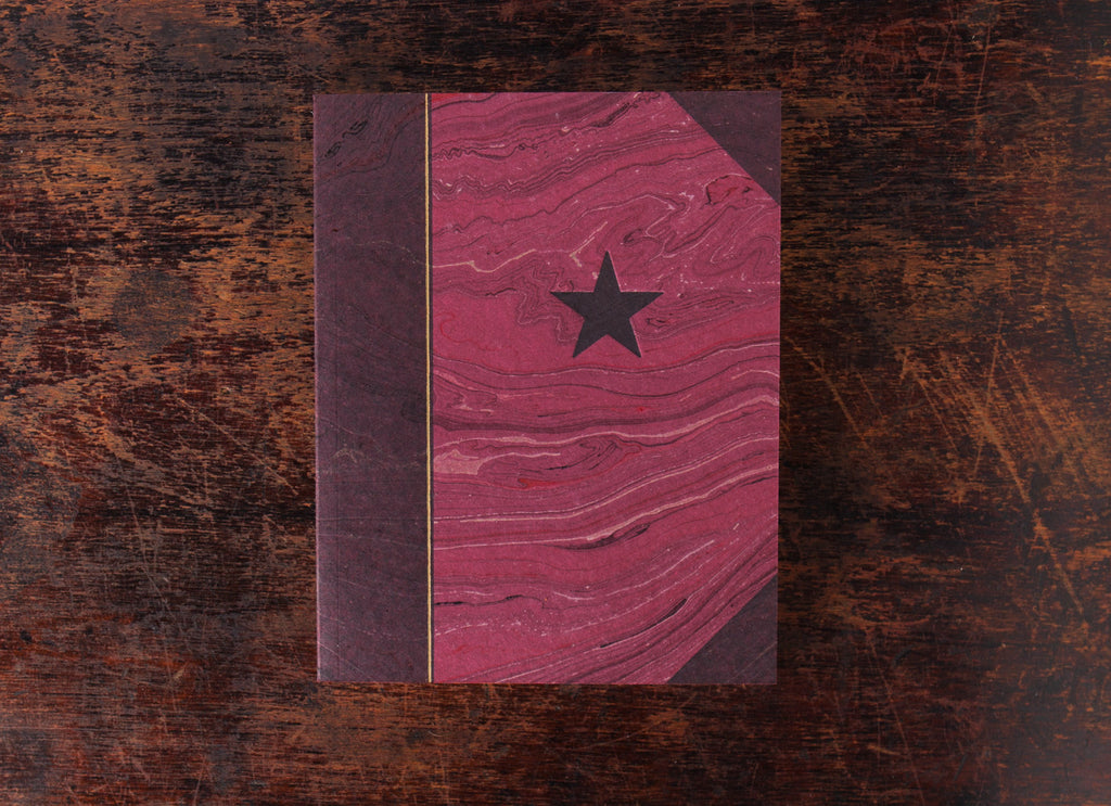 Marbled Journal: Star