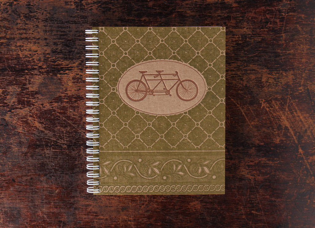 Note Book: Tandem Bike