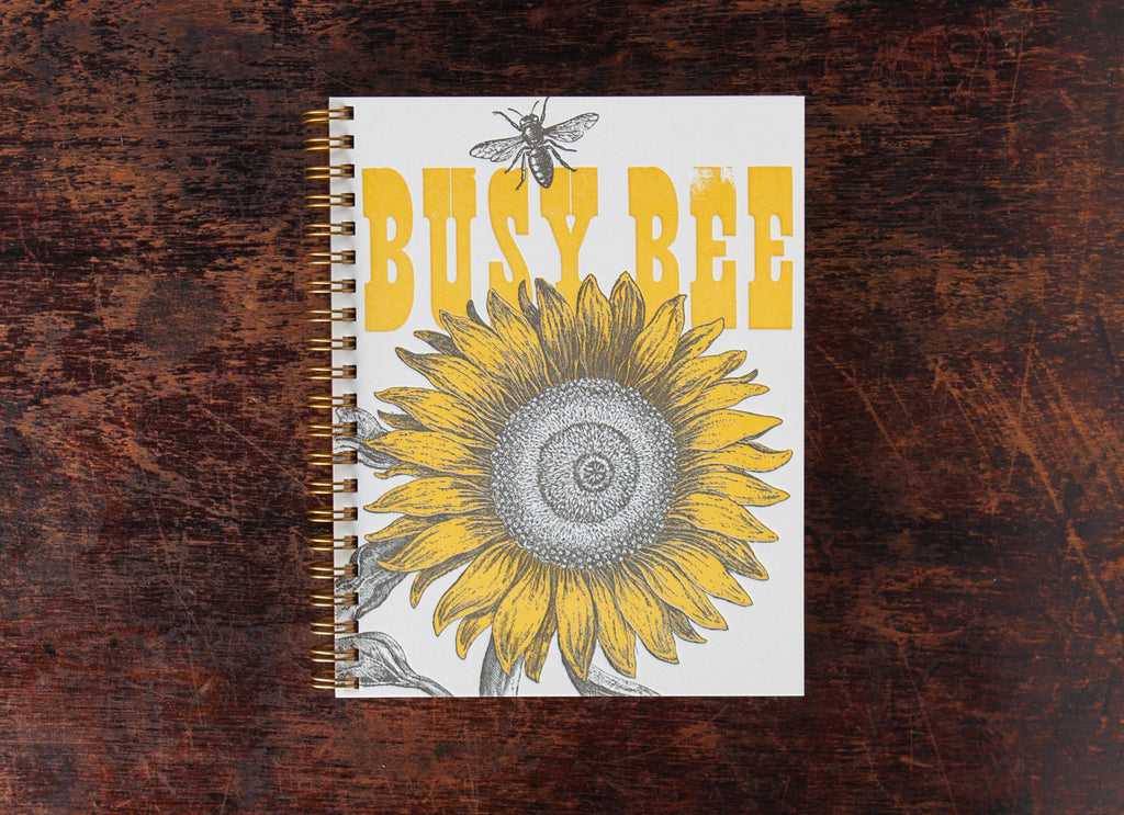 Note Book: Busy Bee