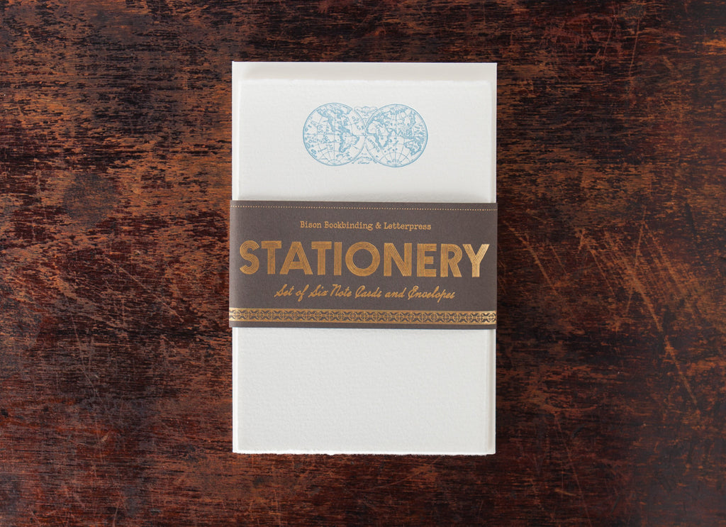 Stationery Set: World