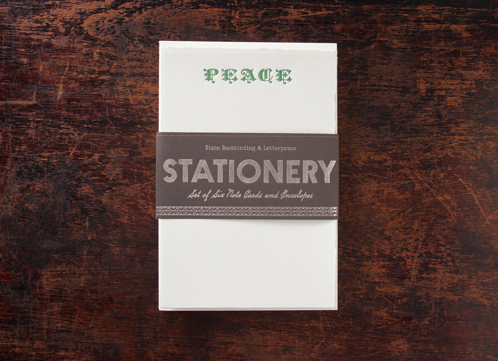 Stationery Set: Peace Tree