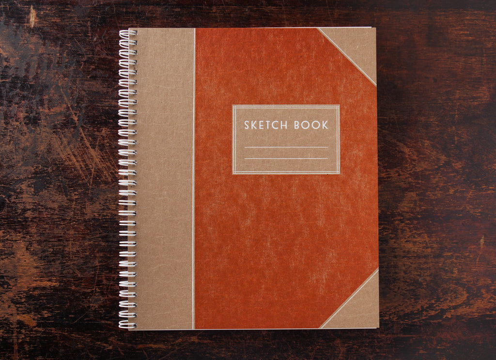 Sketch Book: Handsome Orange
