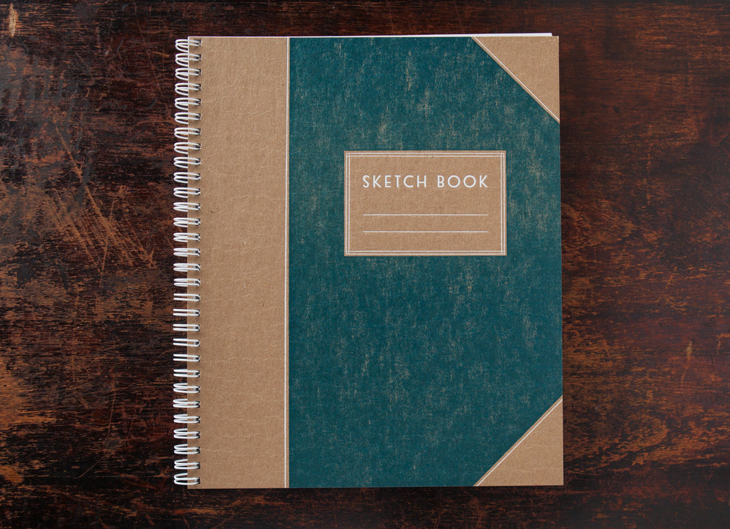 Sketch Book: Handsome Teal