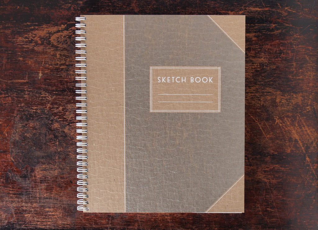 Sketch Book: Handsome White Gold