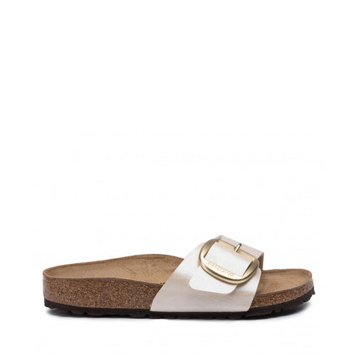 RINEO BIRKENSTOCK MADRID BIG BUCKLE PEARL BIANCO 1015279 01