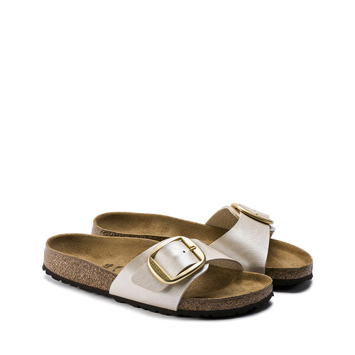 RINEO BIRKENSTOCK MADRID BIG BUCKLE PEARL BIANCO 1015279 02
