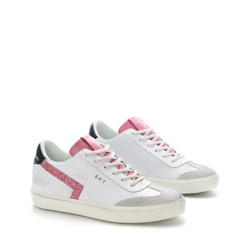 LEATHER CROWN SNEAKERS WLC79-310