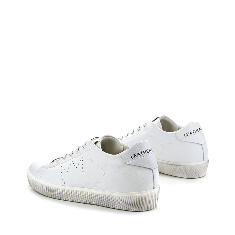 LEATHER CROWN SNEAKERS W_ICONIC-020