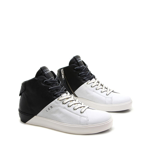 LEATHER CROWN SNEAKERS W_ICONIC-005