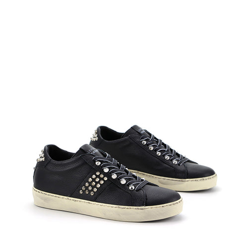 LEATHER CROWN SNEAKERS W_ICONIC-014