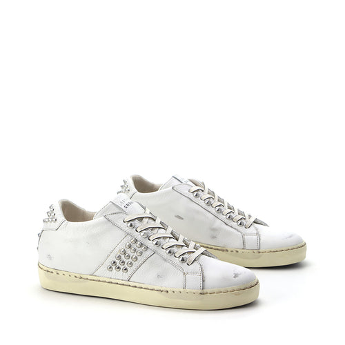 LEATHER CROWN SNEAKERS W_ICONIC-015
