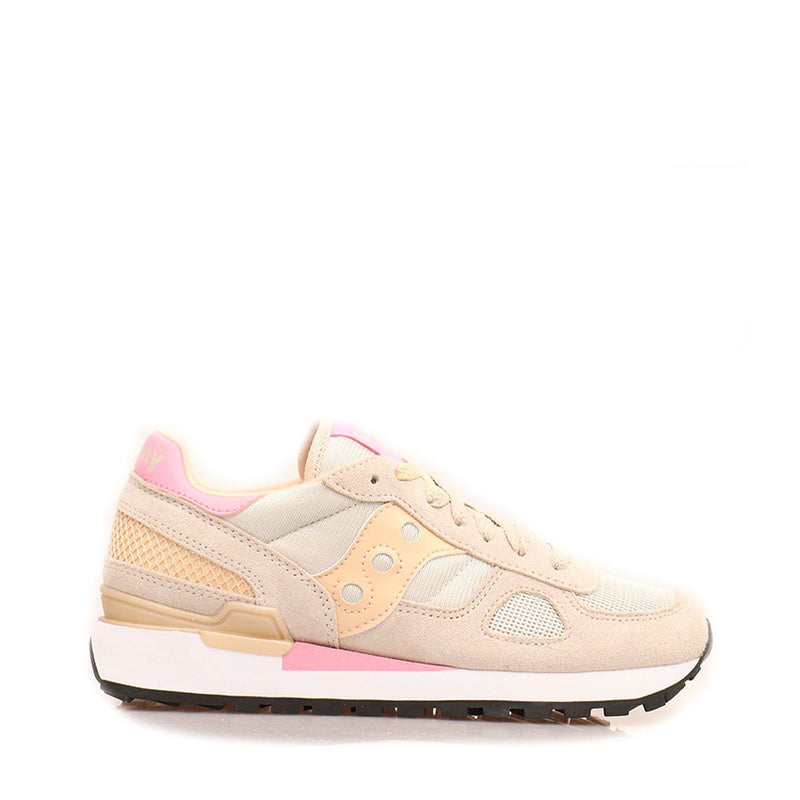 SAUCONY  SHADOW ORIGINAL 1108 - 781 TAN - ALMOND - PINK