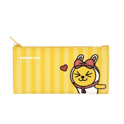 Kakao Muzi Flat Pencil Case
