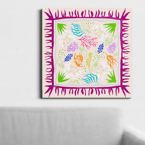 Canvas Print : Ocean Drop Pink
