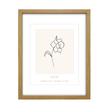 Load image into Gallery viewer, March Birth Flower Print - Daffodil