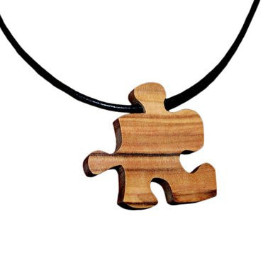 Puzzle Pendant Necklace