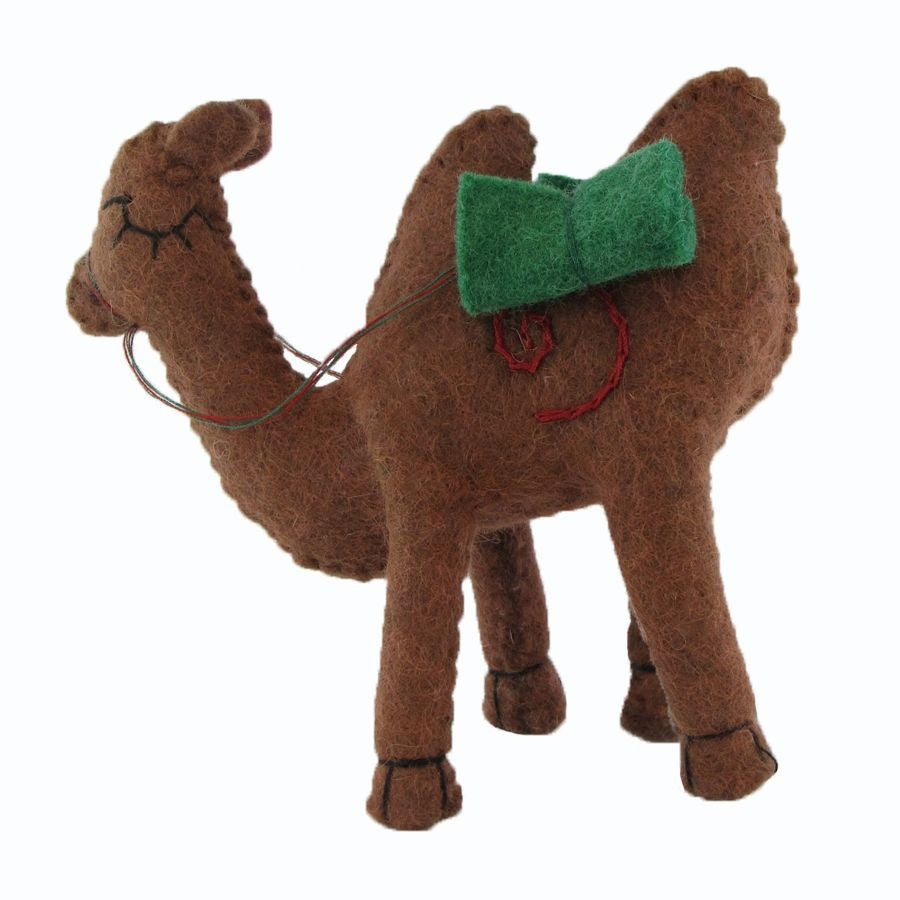 Brown Camel Figurine