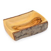 Natural Bark Rectangular Bowl