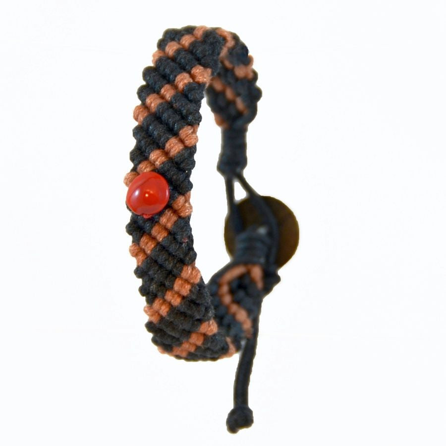Jumnap Black and Dark Orange