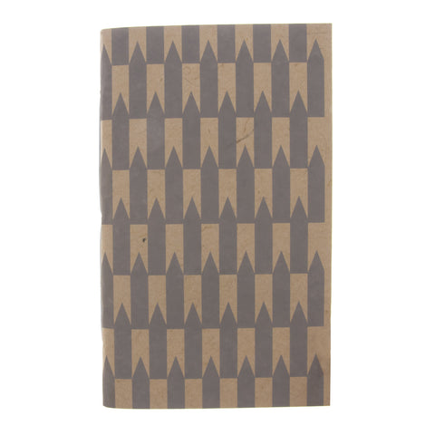 Grey Arrows Large Journal
