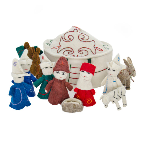 Peace! Nativity Set