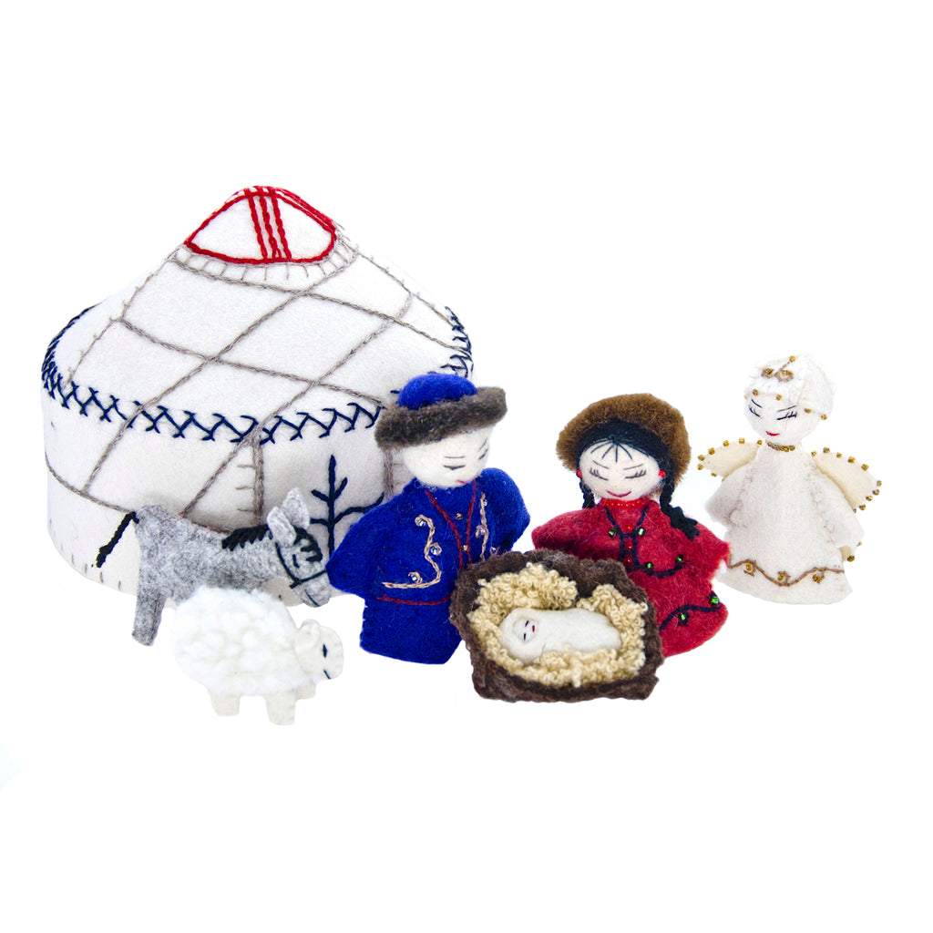 Rejoice! 6 pc Nativity Set