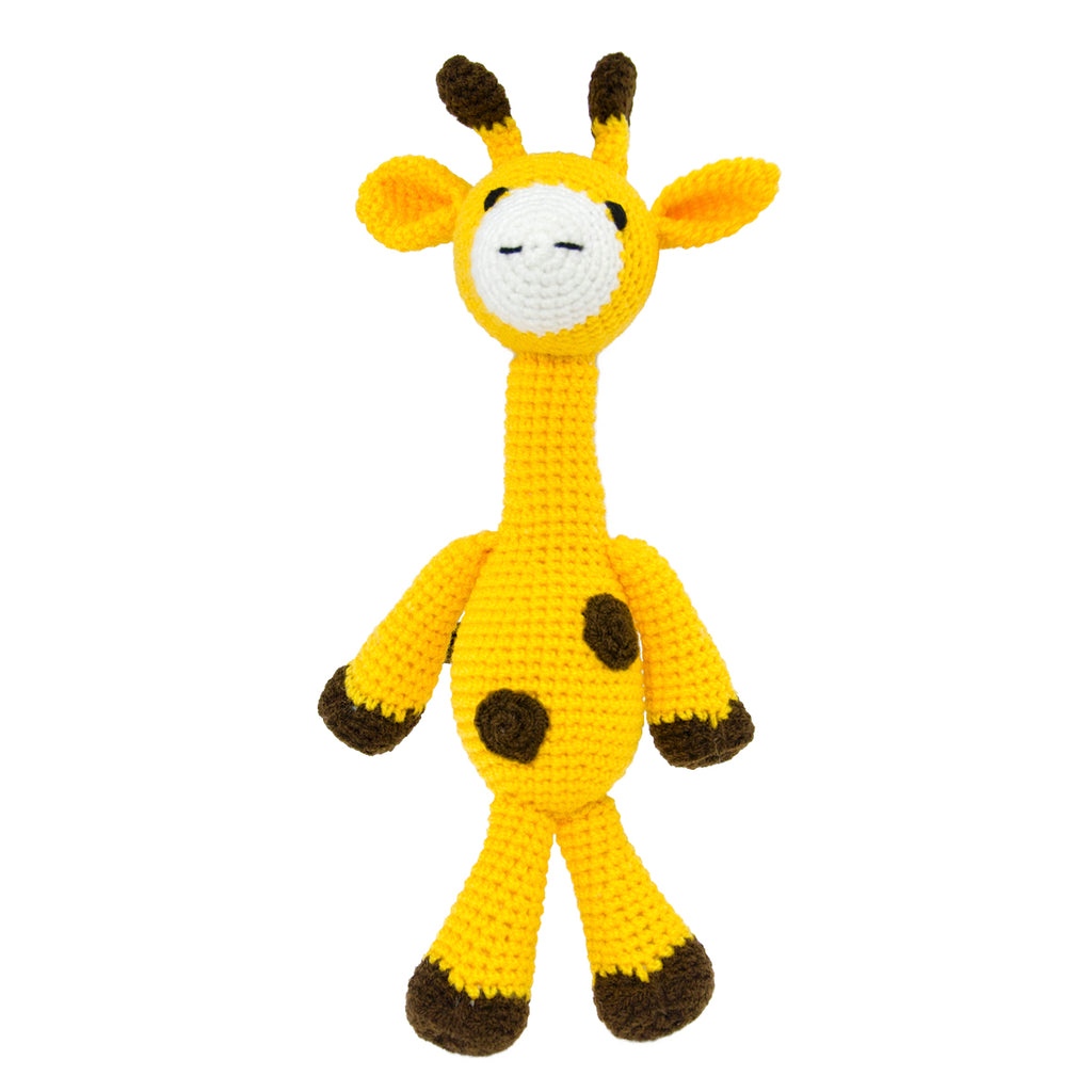 Long Neck Yellow Giraffe